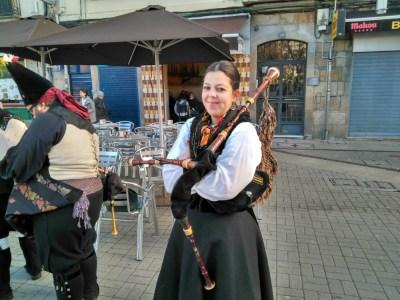 Cultuur in de straten van Pontevedra