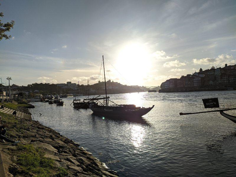 Portboten in de Douro