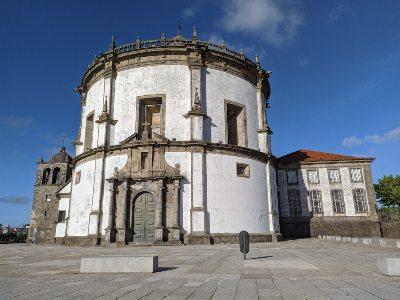 De kerk Serra do Pilar