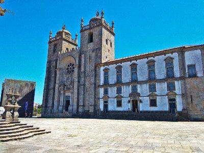 Sé, de kathedraal van Porto